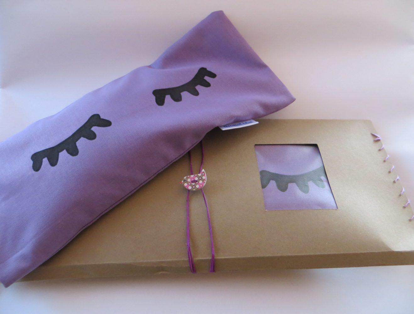 Essential.blue lavender eye pillow