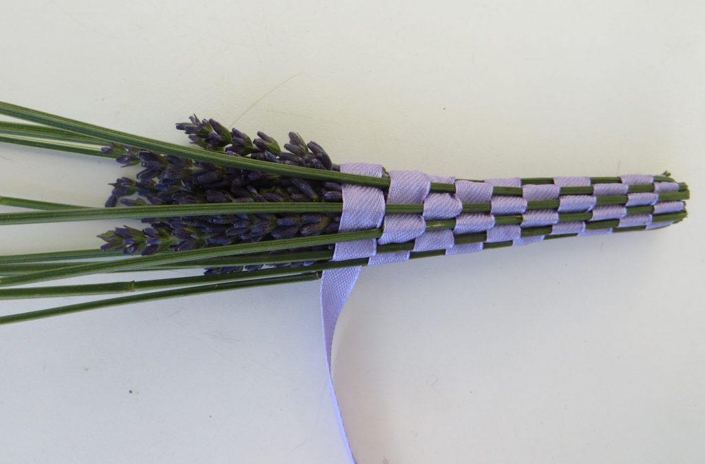 DIY lavender bottle