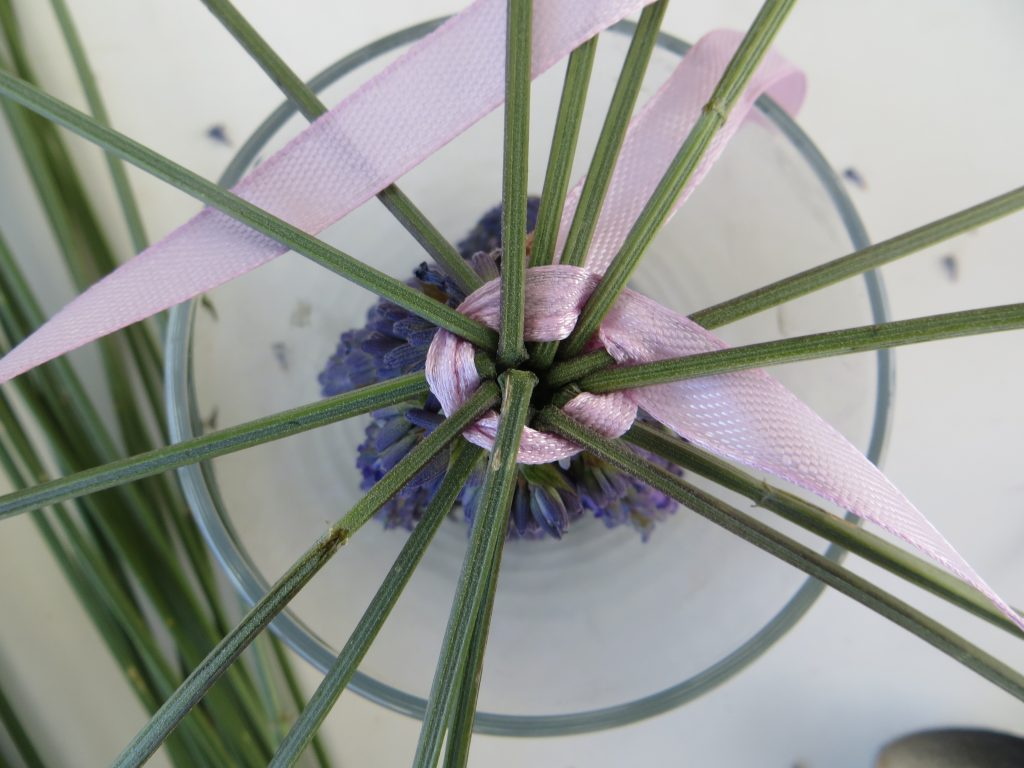 weaving with lavender essential.blue